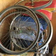 Wheels for the Indian pedicab